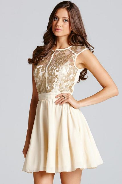 20 Gold Prom Dresses Flower ideas 6