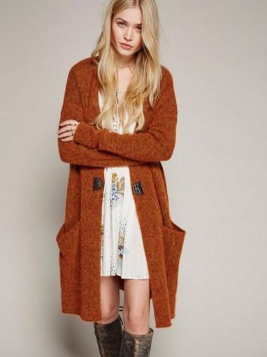 20 Long Sweater Cardigan Pocket Ideas 13
