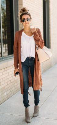 20 Long Sweater Cardigan Pocket Ideas 21