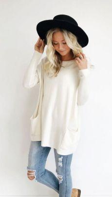 20 Long Sweater Cardigan Pocket Ideas 3