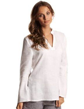20 White Tunic Shirts for Women 15