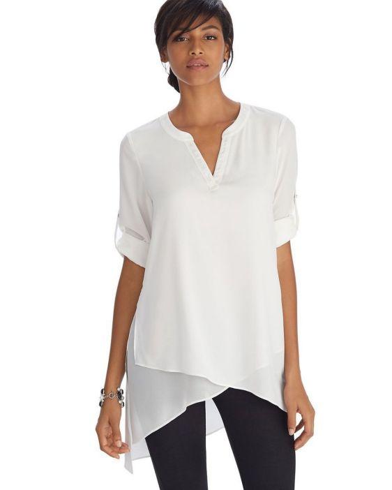 20 White Tunic Shirts for Women 5