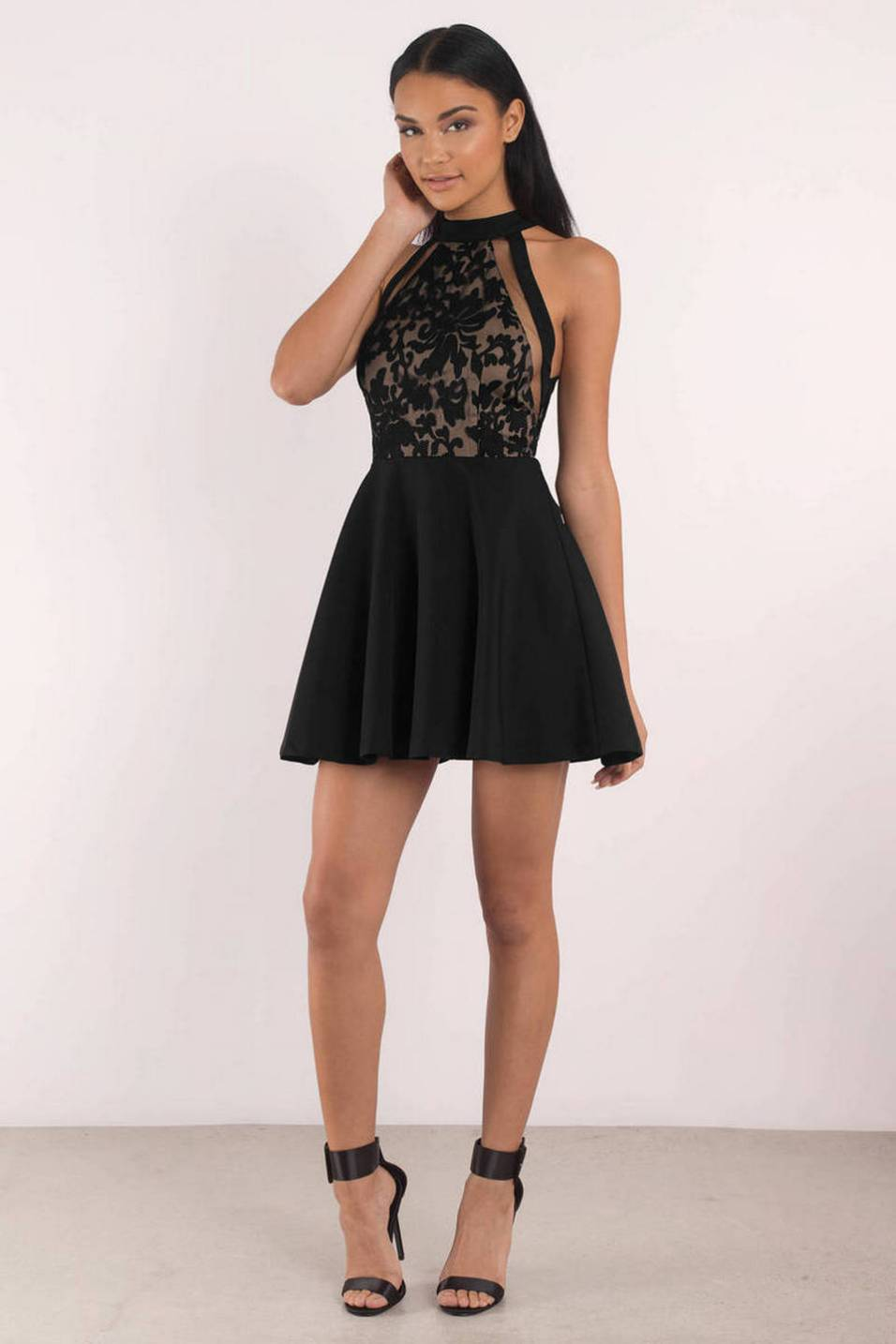 30 About ideas skater dress black That You Need to See 23