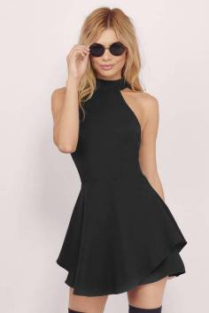 30 About ideas skater dress black That You Need to See 28