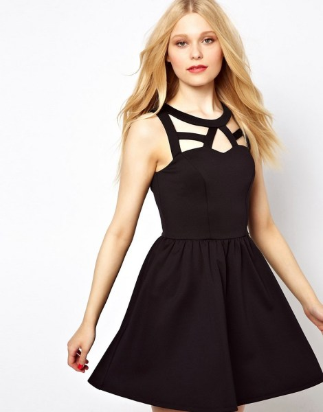 30 About ideas skater dress black That You Need to See 8