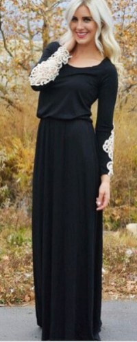 30 Black Long Sleeve Wedding Dresses ideas 12 1