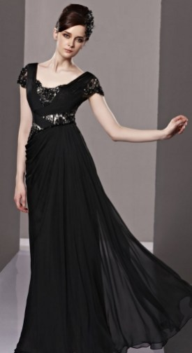 30 Black Long Sleeve Wedding Dresses ideas 27 1