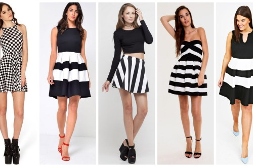 30-The-Evolution-of-skater-dress-black-and-white