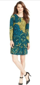 30 Women Print Dresses with sleeves Ideas 11
