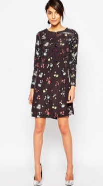 30 Women Print Dresses with sleeves Ideas 12