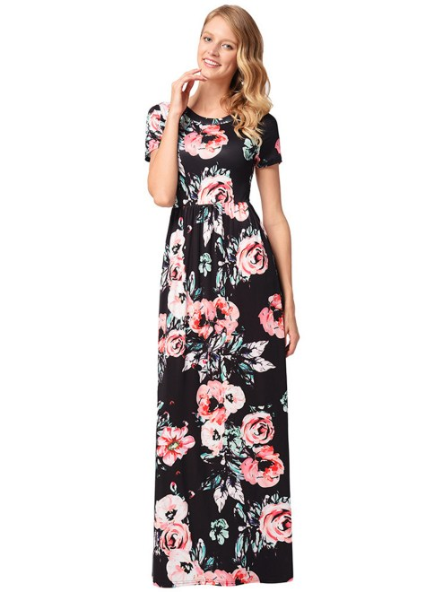 30 Women Print Dresses with sleeves Ideas 5