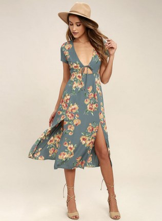 30 Women Print Dresses with sleeves Ideas 7