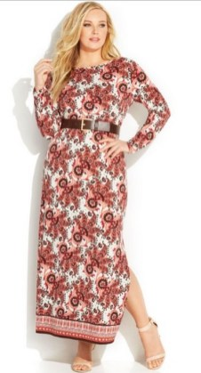 30 Women Print Dresses with sleeves Ideas 9