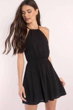 30 ideas skater dress black to Follow 13