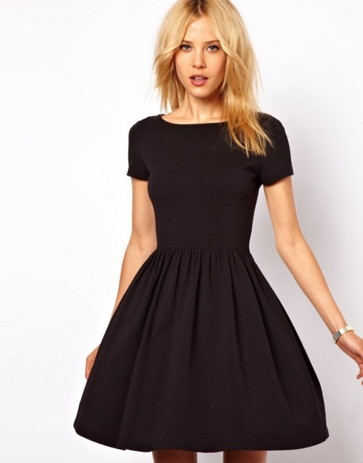 30 ideas skater dress black to Follow 21