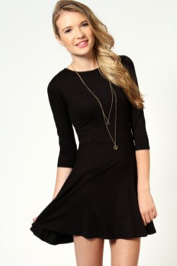 30 ideas skater dress black to Follow 3