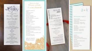 35 Simple Wedding Reception Program Sample Ideas