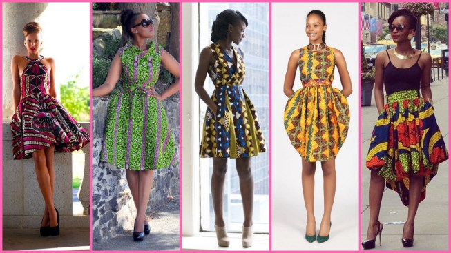 40 African Prints Short Dresses Ideas