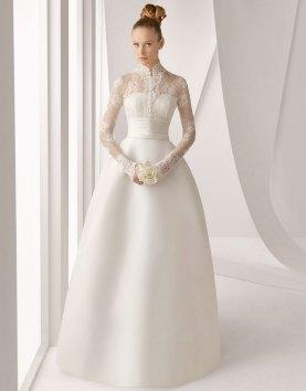40 High Low Long Sleeve Modern Wedding Dresses Ideass 12