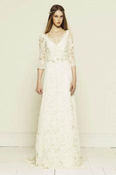 40 High Low Long Sleeve Modern Wedding Dresses Ideass 22