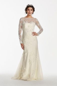 40 High Low Long Sleeve Modern Wedding Dresses Ideass 25