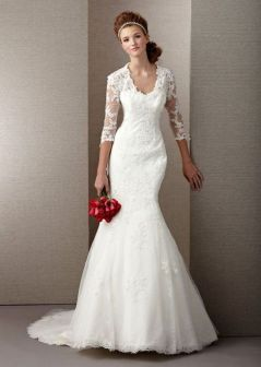 40 High Low Long Sleeve Modern Wedding Dresses Ideass 29