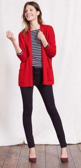 40 Womens red blazer jackets ideas 12