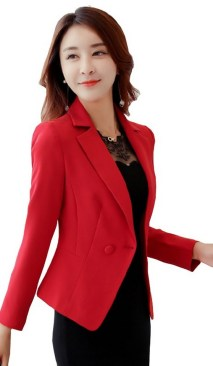 40 Womens red blazer jackets ideas 39