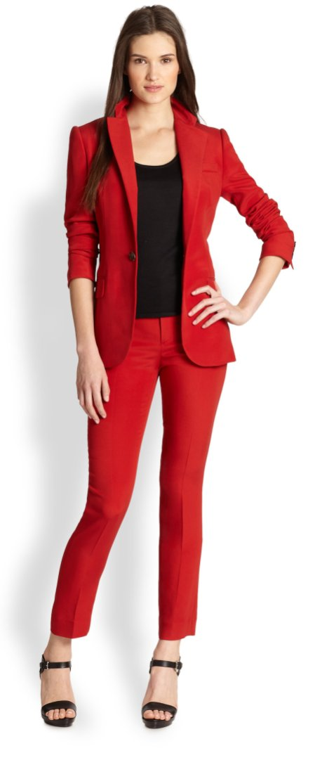 40 Womens red blazer jackets ideas 41