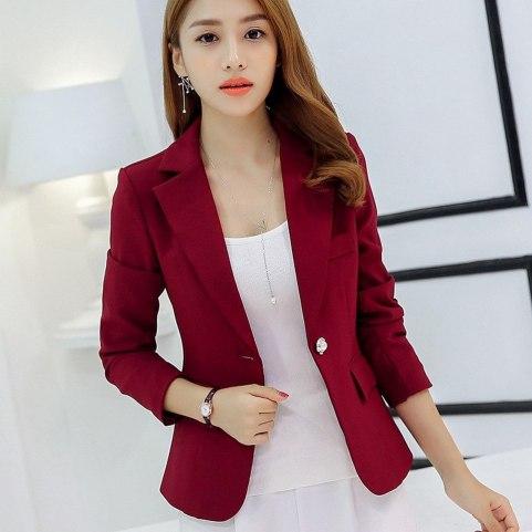 40 Womens red blazer jackets ideas 47