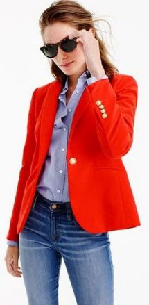 40 Womens red blazer jackets ideas 6