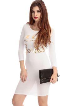 40 all white club dresses ideas 11