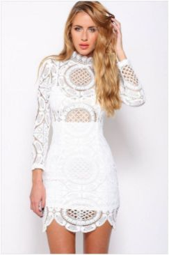 40 all white club dresses ideas 15
