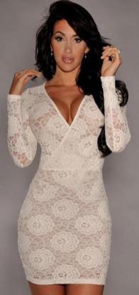 40 all white club dresses ideas 16