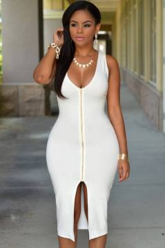 40 all white club dresses ideas 26
