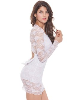 40 all white club dresses ideas 30