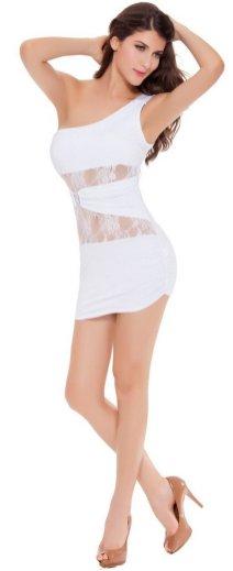 40 all white club dresses ideas 7