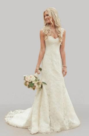 40 wedding dresses country theme ideas 21