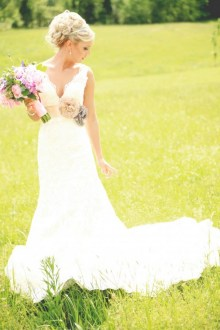 40 wedding dresses country theme ideas 27