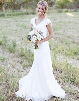 40 wedding dresses country theme ideas 36
