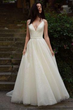 40 wedding dresses country theme ideas 4