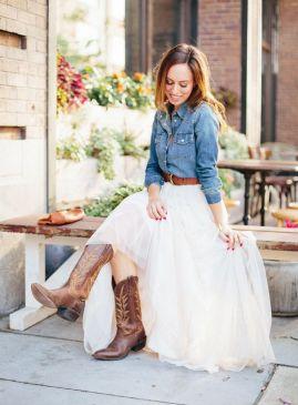 40 wedding dresses country theme ideas 9