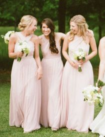 50 Amazing bridesmaid dresses for a country wedding 11