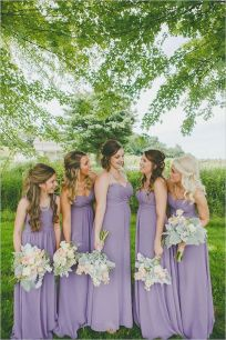 50 Amazing bridesmaid dresses for a country wedding 2