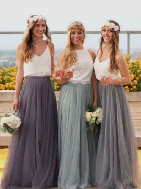 50 Amazing bridesmaid dresses for a country wedding 20