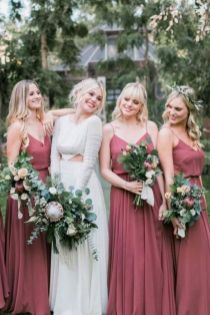 50 Amazing bridesmaid dresses for a country wedding 21