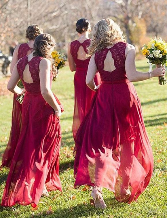 50 Amazing bridesmaid dresses for a country wedding 32