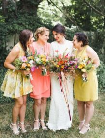 50 Amazing bridesmaid dresses for a country wedding 37