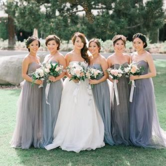 50 Amazing bridesmaid dresses for a country wedding 38