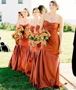 50 Amazing bridesmaid dresses for a country wedding 39